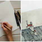 """Crisbel Robles, ilustradora: """"Lo más gratificante es trabajar diariamente en lo que amas"""""""