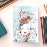 Flortropía, pasatiempos ilustrados para colorear y florecer